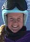 Downhill racer Thea Waldleben. Image Source: Thea Waldleben