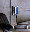 Measurement taken on a powered gear drive for a concrete mixer, using an MSR165 data logger. Source: Creabeton Matériaux AG