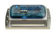 Datenlogger MSR165, eloxiertes Designgehäuse, PC, vergossen, wasserdicht (IP67), mit LiPo-Akku 900 mAh