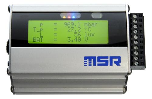 Pc Data Acquisition : Data loggers msr dataloggers acceleration vibration