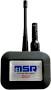 Para temperaturas de operação de -20 ° C a +85 ° C: módulo transmissor MSR385SM com antena externa e bateria Li-SOCl2 de 3600 mAh, IP 64