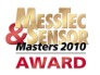 MSR165 receives the MessTec & Sensor Masters Award 2010!